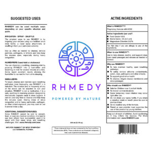 RHMEDY Label